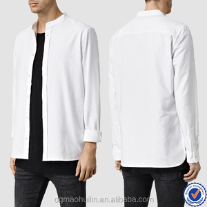 7ca0152616d Stand Collar Shirt-Stand Collar Shirt Manufacturers