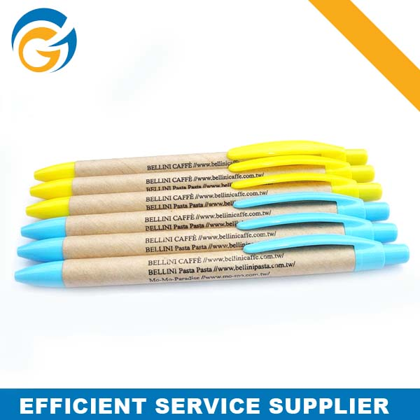 Eco-Friendly Material Customized Paper ECO Pen Paper mate Eco Pen