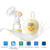 BPA free electric breast pump with free OEM service