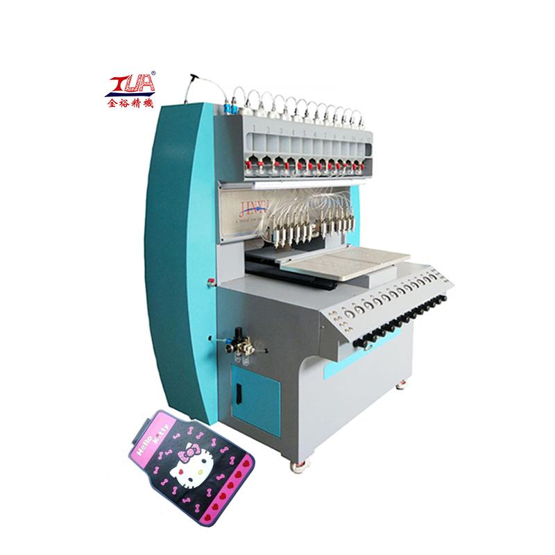 jinyu Automatic 3D pvc fabric high frequency welding machine