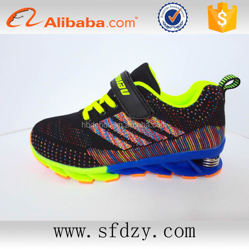 Low price breathable shoes kids 2016 children's sports running shoes