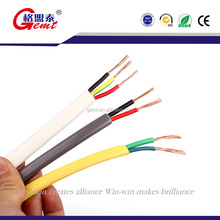 Best Price Flat Electrical Wire Double PVC Insulation