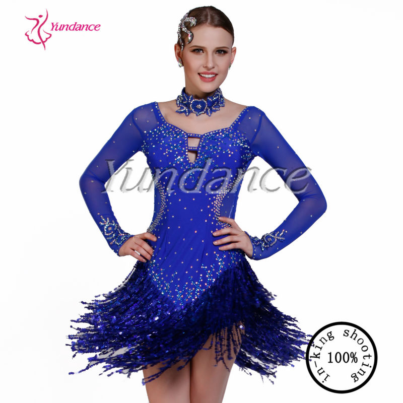 L-13104 2014 New Arrival Ballroom Latin Dance Costumes For Women
