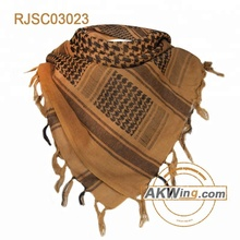 Airsoft Tactical Outdoor Military Arab Shemagh Keffiyeh Scarf Mask-Coyote Brown