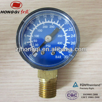 "40mm(1.5"") air water manometer manufacturer 0~30 bar&0~440 psi"
