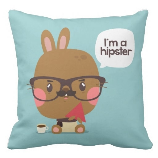 Cold I M To Hipster Pillow Case (Size: 45x45cm) Free Shipping