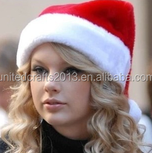2014 latest design crazy christmas hat for adults and kids