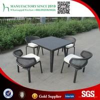 outdoor metal furniture garden table set