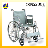 2016 new products foldable simple wheelchair JL983