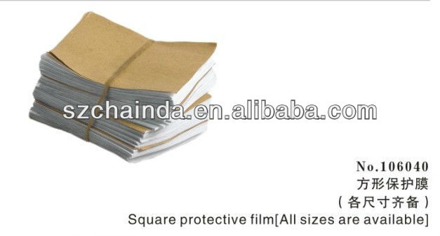 square protective film(all sizes are available)