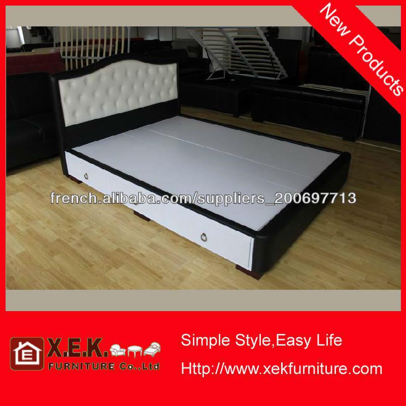 2013 cuir moderne mobilier de chambre à coucher-Lit pliant-ID de ...
