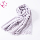 custom woven scarf promotion custom woven shawls HIGH QUALITY with tassel scarf