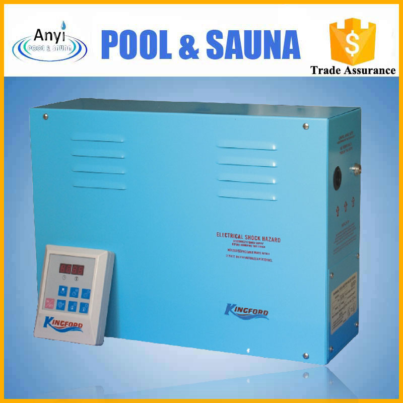 Portable factory direct selling steam electricity generator for steam bath room