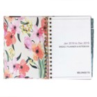Custom high quality spiral bound a4 a5 ruled notebook day note book planner printing for school