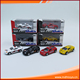 Popular chidlren gift toys pull back 4 color diecast metal kids small toy cars