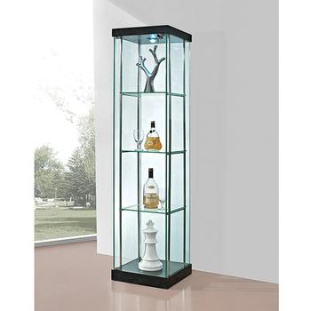 High Quality Modern Class Curio Collectible Glass Vitrine
