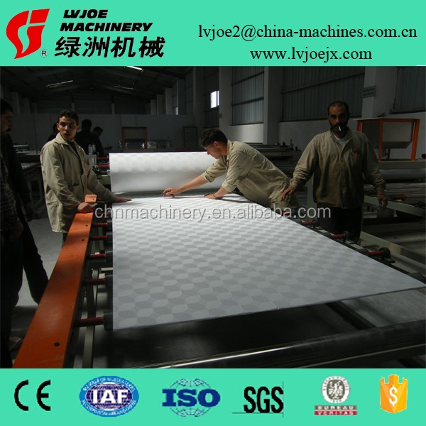 Gypsum Board PVC and Aluminum Foil Extrusion Coating Laminating all-in-one Machine