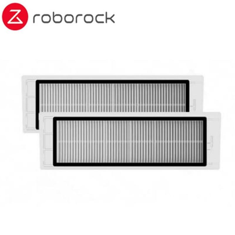Для Xiaomi Roborock S50 Запчасти для пылесоса боковая щетка + HEPA фильтр + основная щетка + фильтр для резервуара для воды + тряпка для швабры Roborock аксес...(Китай)