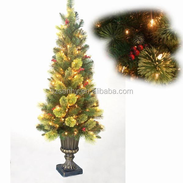 2017 Cheap mini christmas tree decoration for Christmas gift