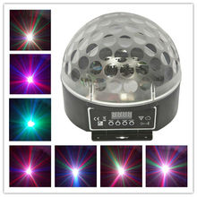 Dmx rgb led luces de cristal magic ball light mini bolas de partido