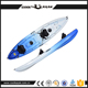 3 person sit on top pedal canoe wholesale plastic sea fishing kayak