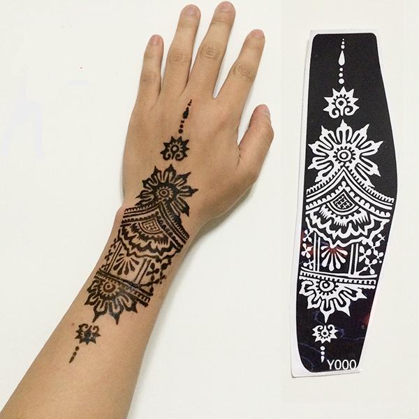 henna tattoo schablonen kaufen billighenna tattoo schablonen partien aus china henna tattoo. Black Bedroom Furniture Sets. Home Design Ideas