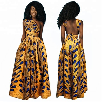 24e53d9c87f71 2018 Factory Wholesale African Kitenge Dress Designs - Buy Kitenge ...
