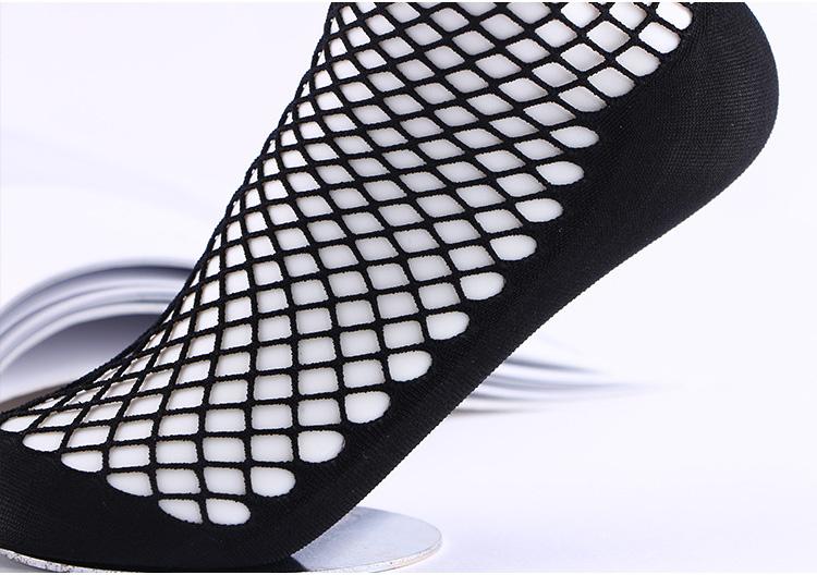2018 Fashion High Quality Custom Sexy Fishnet Women Socks