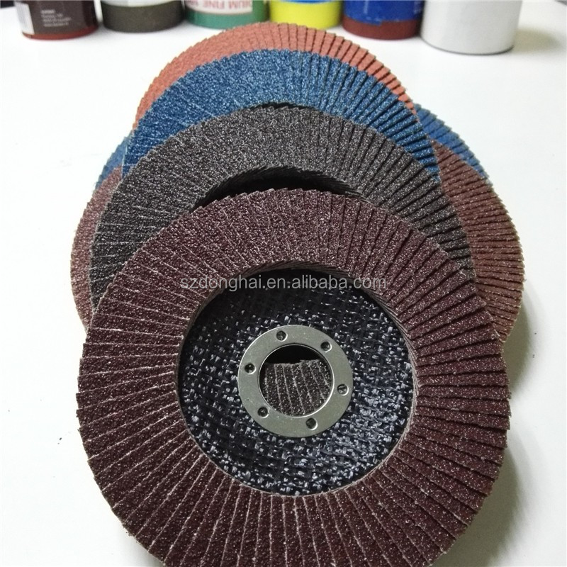 100 aluminium oxide perfect quality abrasive flap discs for wood metal stone
