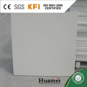 60*60 PVC laminated easy fit interior wall panel gypsum ceiling board tiles