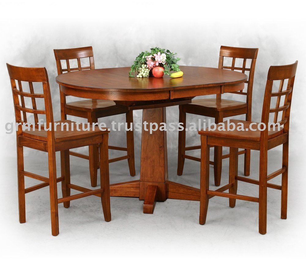 Furniture mebel kayu makan makan kayu meja kursi pub meja pub kursi rumah furniture buy makanmakan setruang makan furniture product on