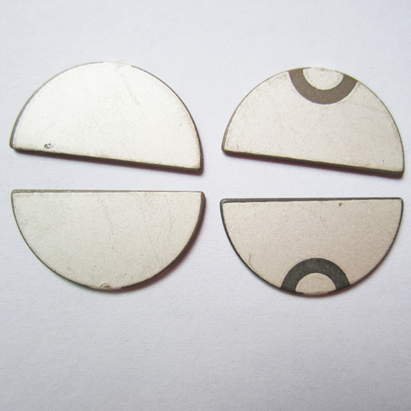 20mm*1 medical machine parts Ultrasonic piezoelectric ceramic disc
