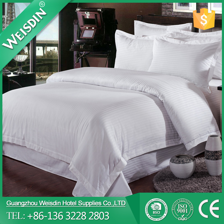 WEISDIN deluxe star stripe design royal style hotel bedding sets