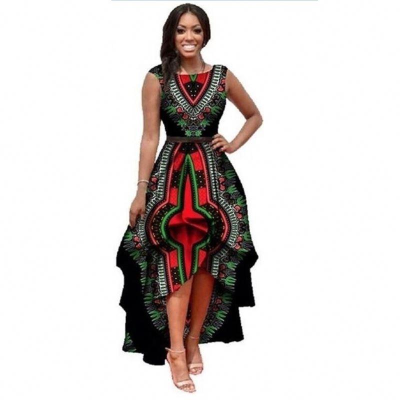 fac0d27d1 Design Fashion Women Long Casual Party African Kitenge Dress - Buy ...