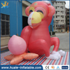 Cute design inflatable model monkey/inflatable cartoon for sale