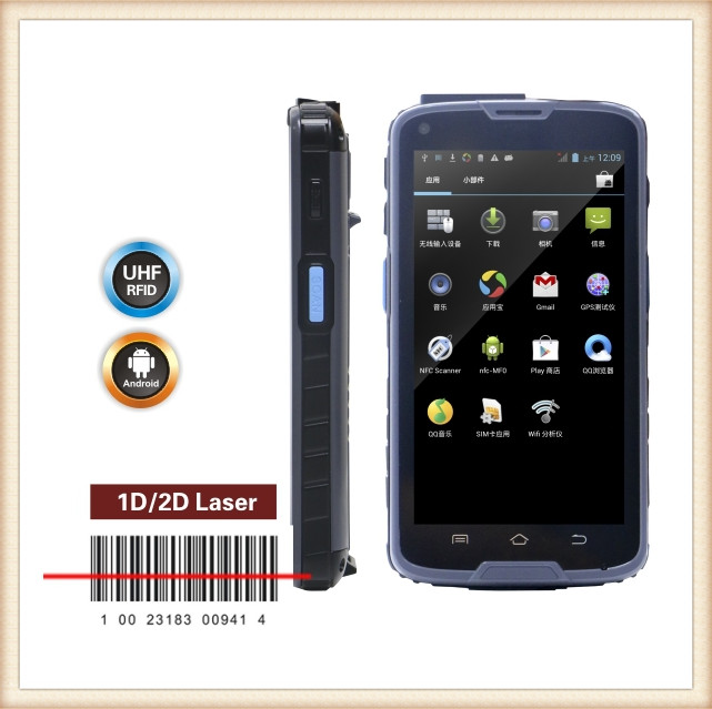 hp ipaq C5 S Mini wirelss barcode scanner 1D laser (for android/iphone/windows ) CT30 portable c5s