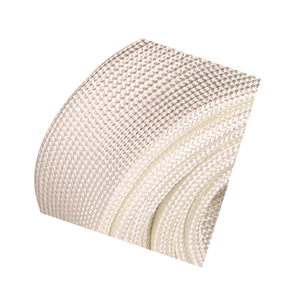 Heat and fire resistant insulation materials High temperature braided fiber glass sleeve