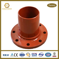 industrial PVC Pipe Fitting Sizes with Ductile Iron Material manufacturer
