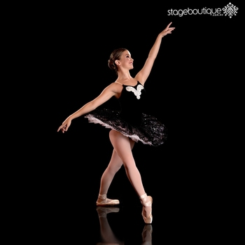 2019 New Style majesty black white ballet swan tutu dance costumes
