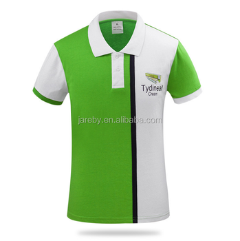 Work Wear Custom Logo Sublimated Polo Shirt Design With