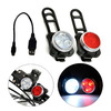 waterproof rechargeable USB LED 4 molds tail bike light