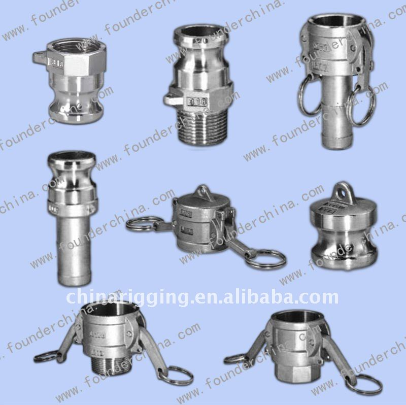 Stainless Steel Cam Lock / Quick Coupling Hardwares