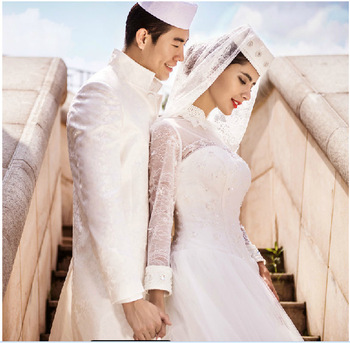 Muslim Bridal Wedding Dress Wholesale With Good Price - Buy Muslim ...