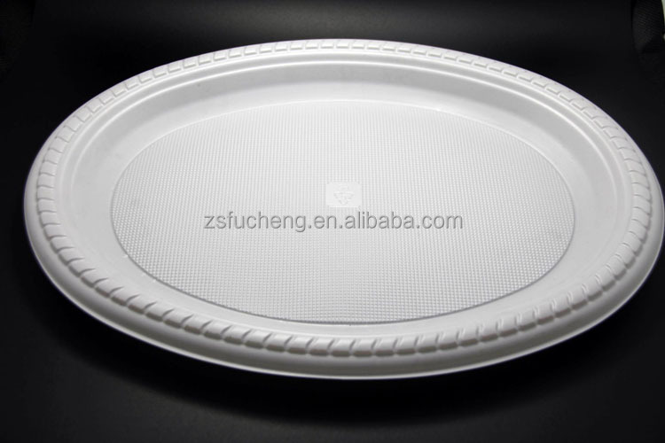 2016 Wholesale Cheap Disposable plastic plate make in China