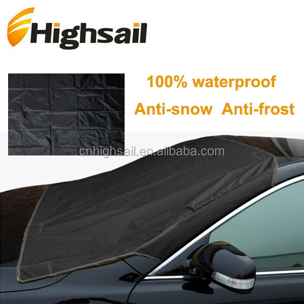 IceScreen Magnetic Frost Ice Snow Sun voorruit Cover - Deluxe Black