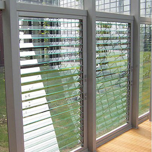 Top Quality Decorative Swing Type Aluminum Glass Shutter