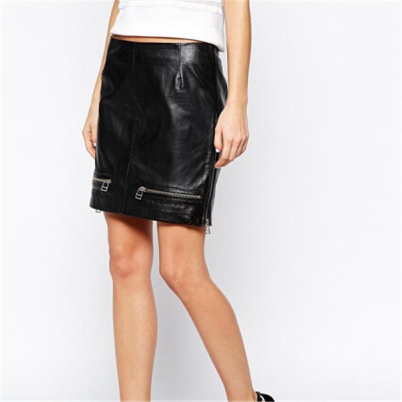 Latex Mini Skirts 64