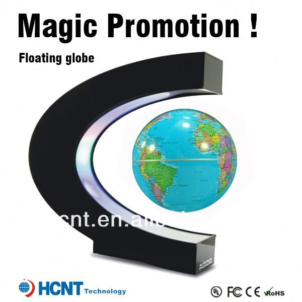 New invention ! Magetic Levitation globe for educational toys ! chenille & poms toys