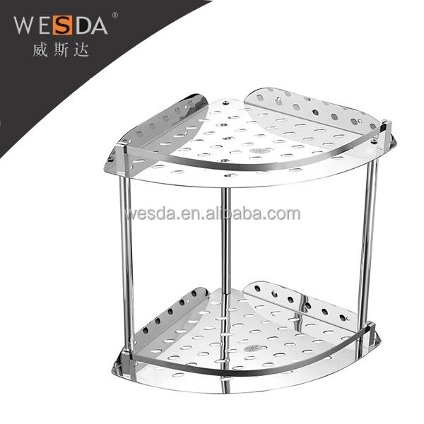 Wesda Stainless Steel Bathroom Corner Shelf,822-250-1 - Buy Bathroom ...