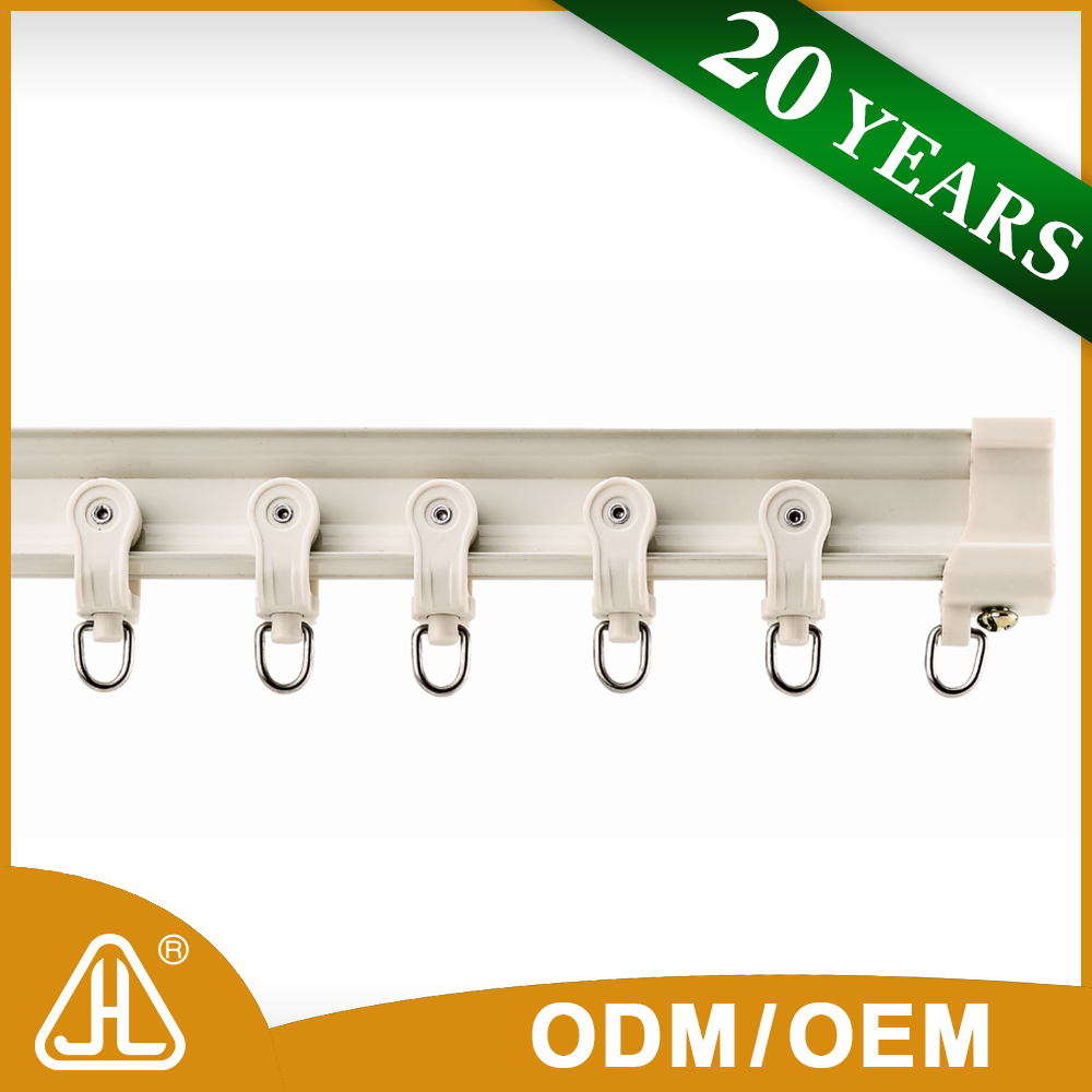 China Product Curtain Rail Clips Curtain Rods And Rails Window Curtain Rails
